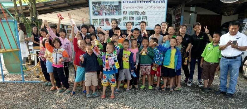 คิงแมทส์ เชียงใหม่แยกดาราสานต่อโครงการช่วยเหลือเด็กด้อยโอกาสต่อเนื่องเป็นปีที่ 2
