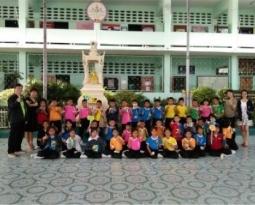 KingClass Academy บางบัวทอง มอบความรู้ให้นักเรียน ร.ร. ชุมชนวัดบางไผ่